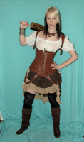 Steampunk Gypsy Stock 3 by KristabellaDC3