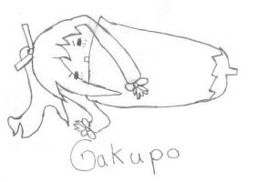 Gakupo In a Eggplant Uncolored by jenchan11