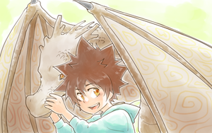 Dragon of Vongola by mzsora