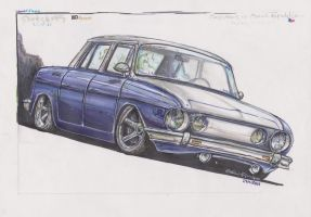 Skoda 110 by HorcikDesigns