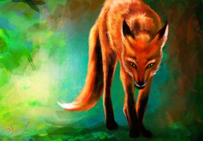 The Fox Spirit by ex0tique
