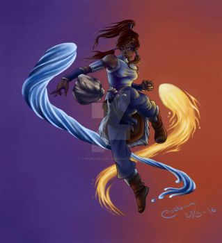 Avatar: The legend of Korra by TheUglyBlowfly