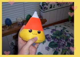 Candy Corn Plushie - 1 by Ember-Eyes