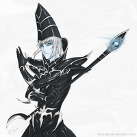 Dark Magician -- The Ultimate Wizard by Sing-sei