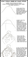 Tutorial - How I Draw Jinbei by Genolover