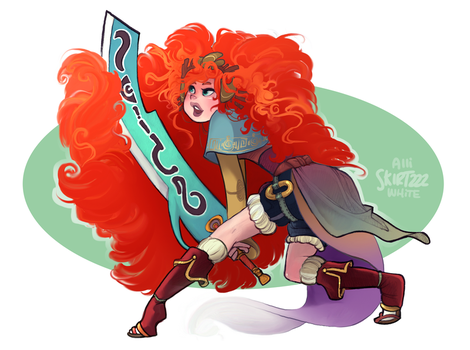 Samurai Merida by Skirtzzz