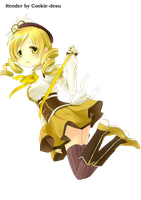 Render: Mami Tomoe by Cookie-desu