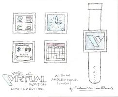 Virtual Watch concept by JWthaMajestic