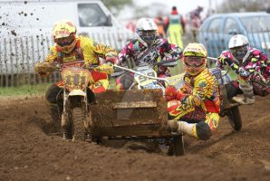 Brown vs Millard @ Culham 2013 by Petrol-Head-Images