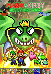 Mario and Kirby - Age of King Wart Poster by KingAsylus91