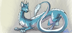 Eastern Dragon-Wolf thing. by Tarakore