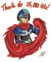 MMX - Thanx for the 25000 hitz by KarinEXE