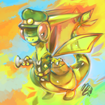 Flygon experiment by MBLOCK