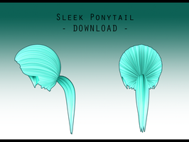 Sleek Ponytail [ DOWNLOAD ] by Aia-Aria