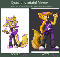Before and After Meme! by Rubykickz