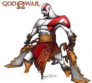 GOD OF WAR by the-tracer