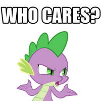 spike-whocares by DrZackrosImageMacros