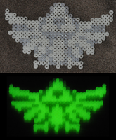 triforce logo perler by Michiresu