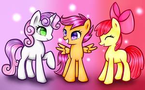 Cutie Mark Crusaders by SarahThePegasister