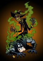 Happy Halloween! Luv, Scarecrow by brentotey