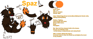 New OC: Spaz {ref} by SNlCKERS