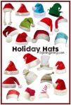 Free PNG Holiday Hats by ibjennyjenny