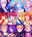 FIRE EMBLEM FATES BATCH 1-3 by taxikun