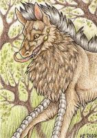 ACEO Trade: Vorca by Agaave