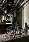 Wheelchair in the Light by stengchen