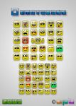 Square emoticons by apbaron