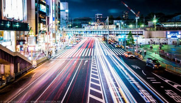 tokyo streets by toko