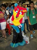 A Furry Cosplayer by OneRadicalDude