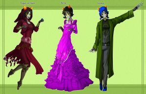 Nepeta designs by EiraQueenofSnow