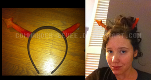 Cosplay horns! by Nuclearpsychotic
