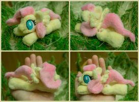 Tiny plushie Fluttershy 5 inch for sale by Valmiiki
