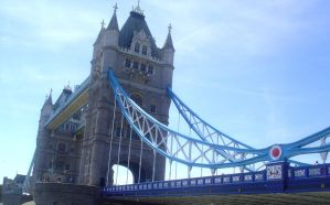 Tower Bridge Close Up by jen-den1