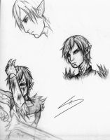 Fenris Sketches by WariaChic