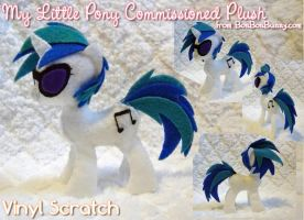 MLP Plush Vinyl Scratch Take 2 by Bon-Bon-Bunny