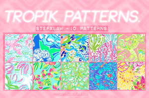 Tropik Patterns - stefxlaw by Inmyparadise