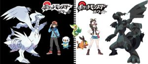 Pokemon Black and White by TheRonAndOnly