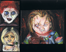 Family of Chucky by ConkerTSquirrel