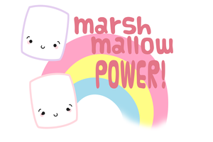 Marshmallow POWER! by CinnamonROLLY