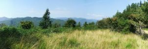 panoramic mountains by SuperMicth