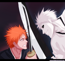 Ichigo Vs Hichigo by VitalikLoL