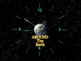 Time Travel Around The Earth by liquidozzwald