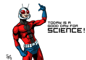 Ant-Man: Man of SCIENCE by ZBGB
