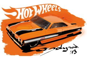 Hot Wheels Custom '64 Galaxie by candyrod