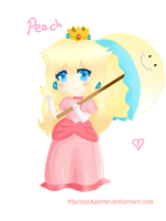 ..:Princess Peach:.. by marina1agathe