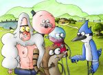 Regular Show At the Park by fenix91