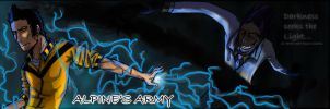 Alpine's Army new banner by SamColwell